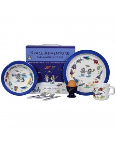 Martin Gulliver Space Adventure 7 Piece Melamine Set